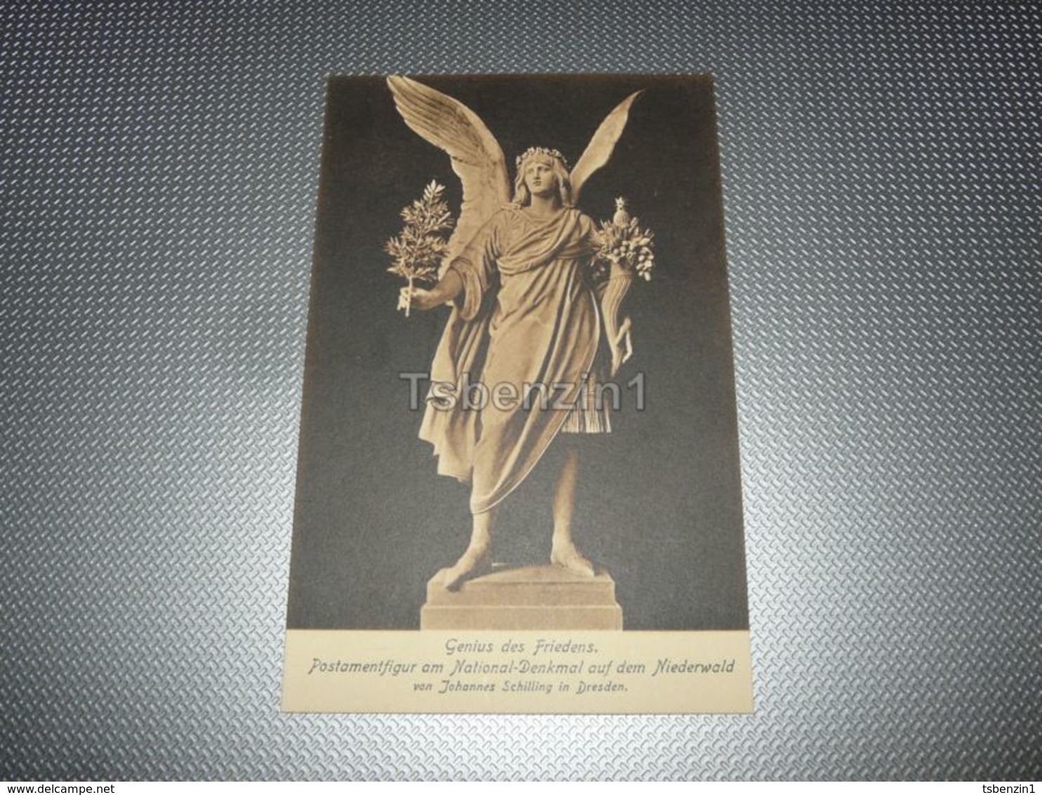 Genius Des Friedens. Postamentfigur Am National-Denkmal Auf Dem Niederwald Von Johannes Schilling In Dresden Germany - Dresden