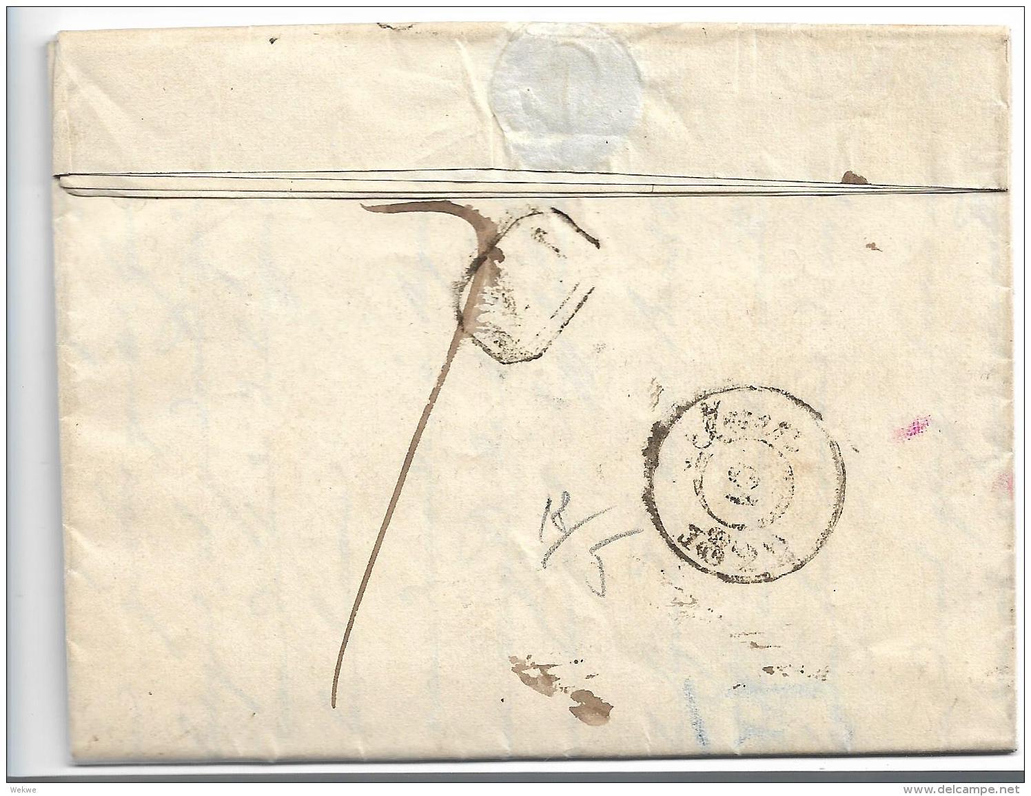 EL095 / Elsass,  Strassburg  1822 Nach Paris - Alsace-Lorraine