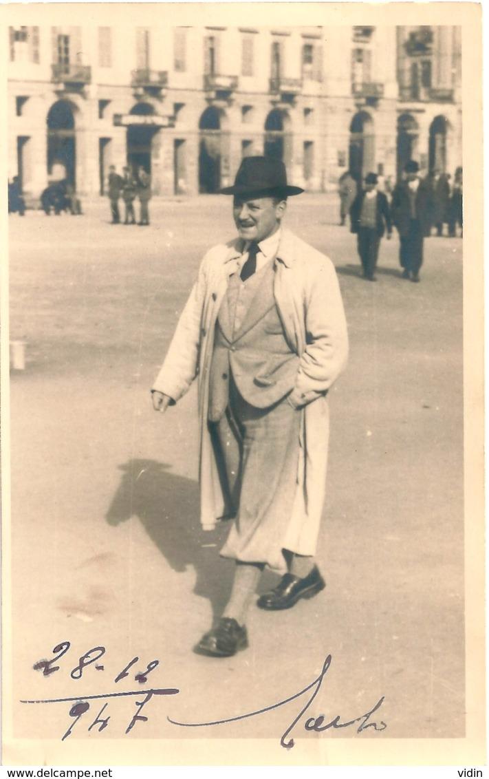 ITALIE ITALIA Italien En 1947 - Personnes Anonymes