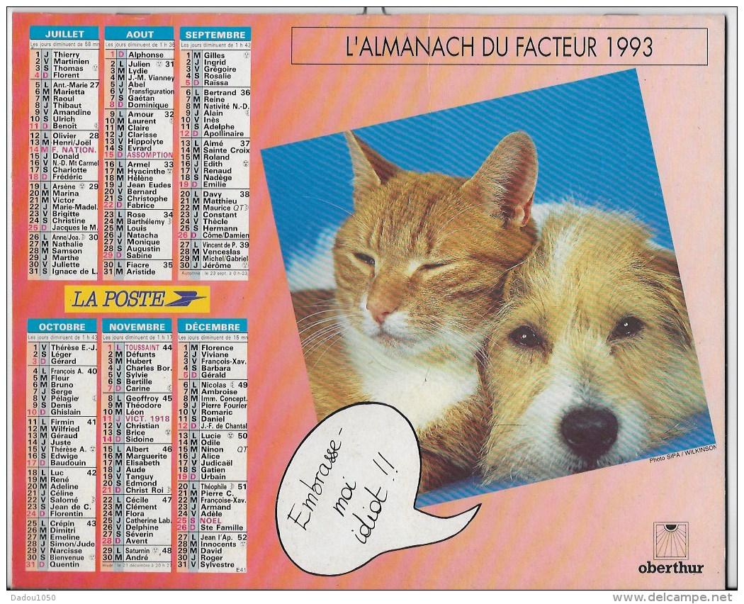 Almanach Du Facteur 1993 - Grand Format : 1991-00