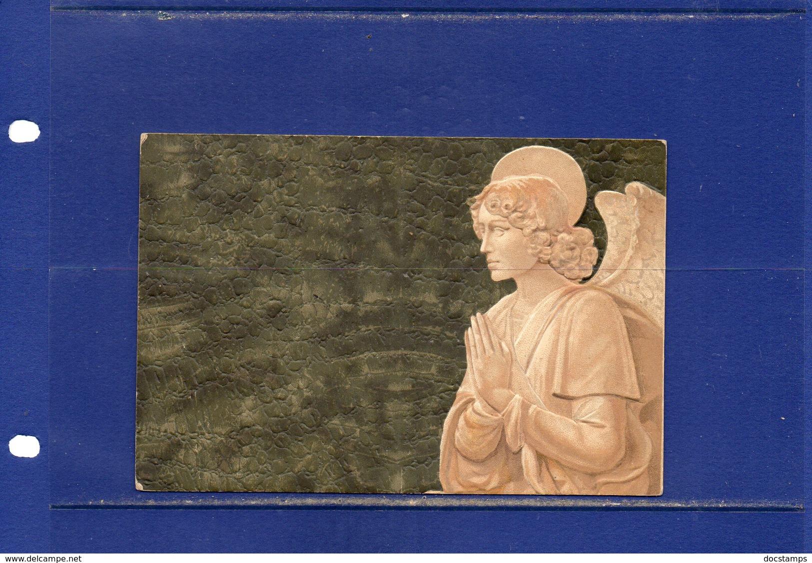 ##(DAN185)-1919-bella Cart. Illustrata  In Rilievo Della Robbia-Un Angelo,da Thiene Ann. Frazionario(69-114) Per Venezia - 1900-44 Vittorio Emanuele III