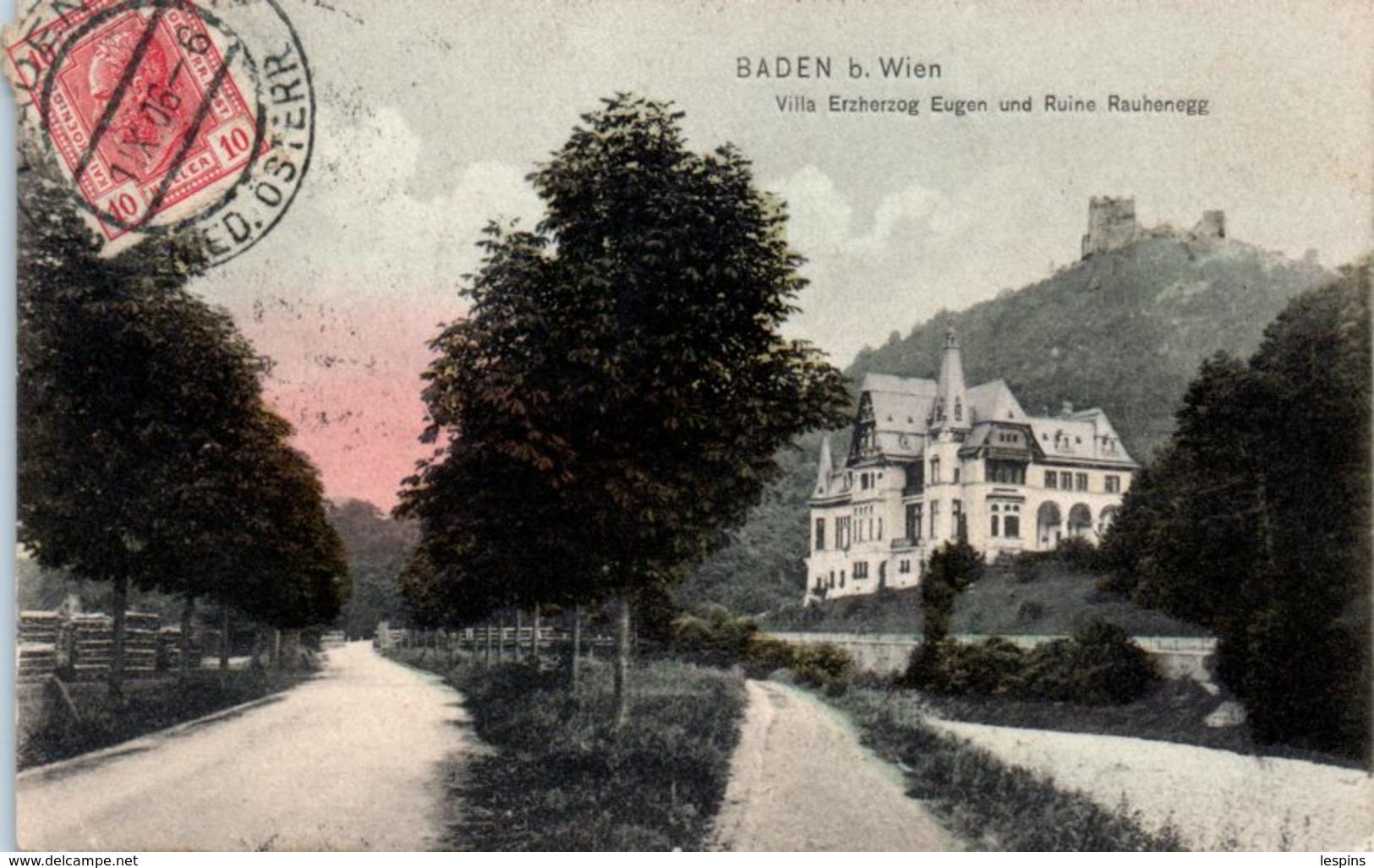 Autriche -- Baden B. Wien - Baden Bei Wien