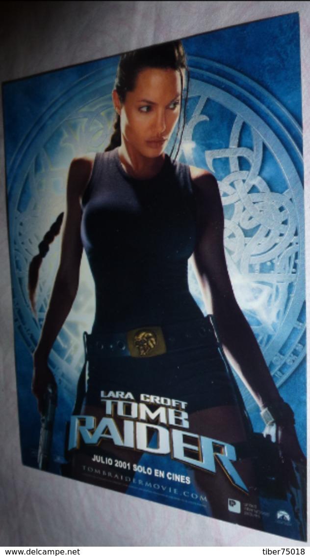 Carte Postale (édition Escaparete Clasico - Mexique) Lara Croft - Tomb Raider - Pubblicitari