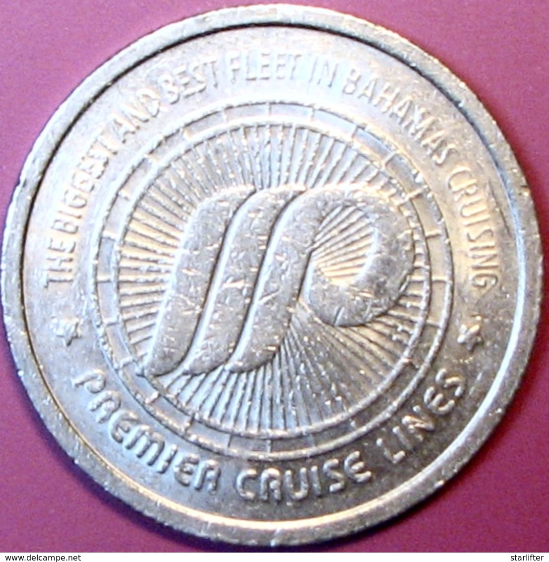$1 Casino Token. Premier Cruise Line. D83. - Casino