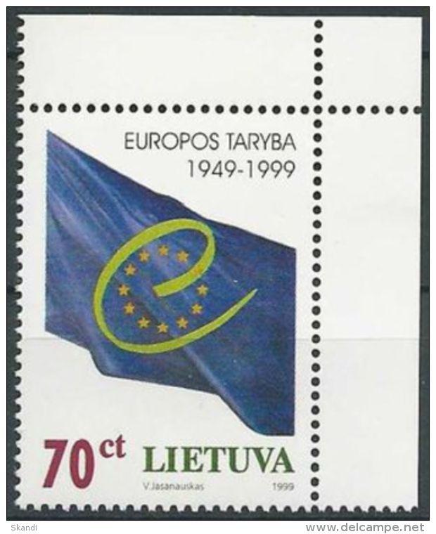 LITAUEN 1999 Mi-Nr. 695 ** MNH - Lithuania