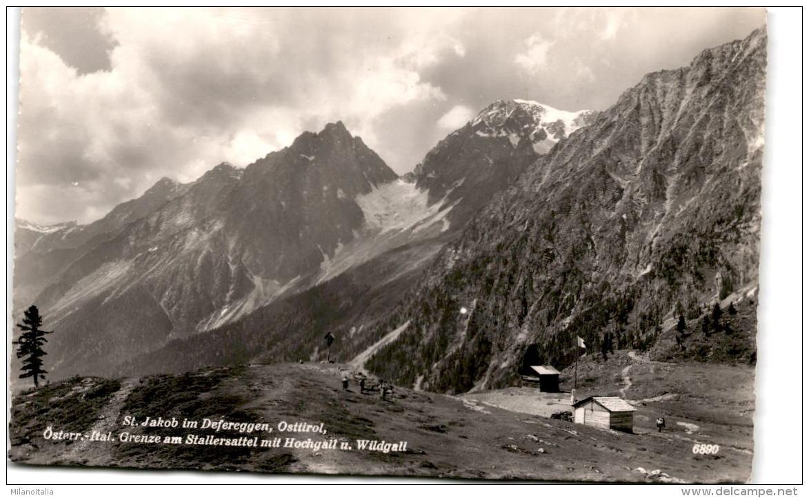 St. Jakob In Defereggen, Osttirol - Österr.-ital. Grenze Am Stallersattel Mit Hochgall U. Wildgall (6890) - Defereggental