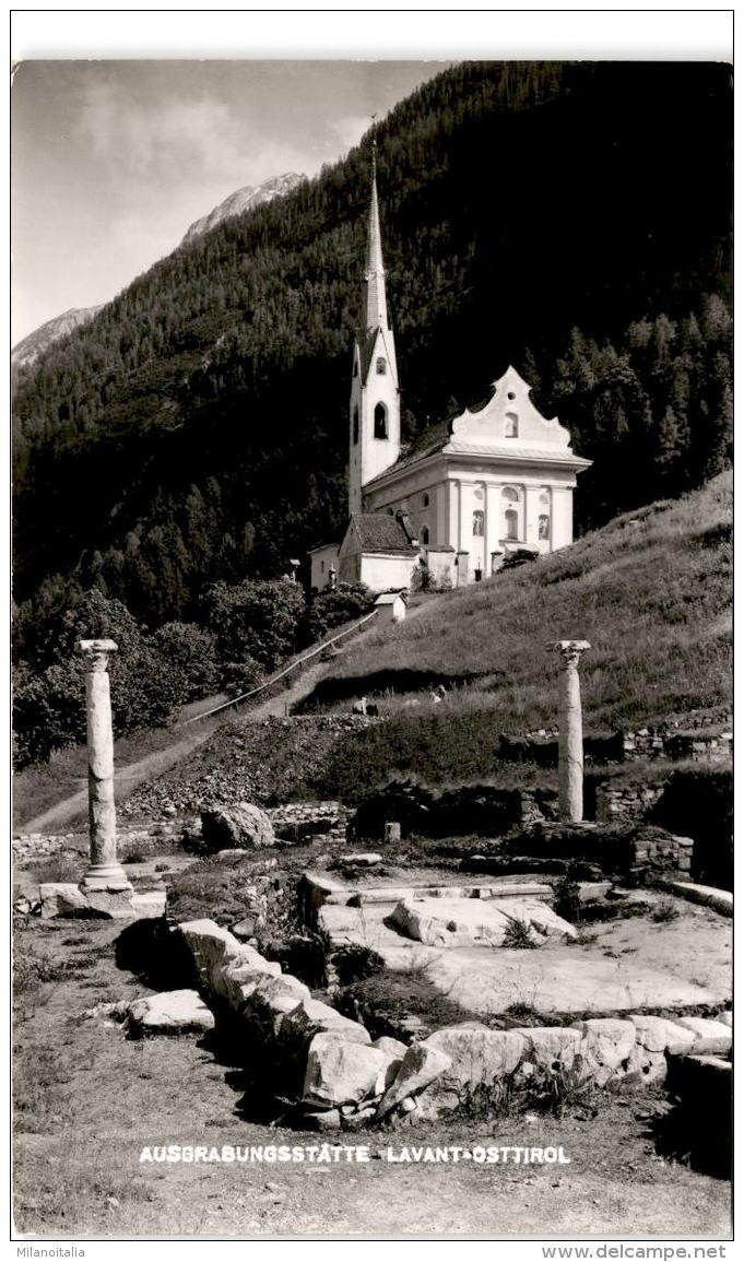 Ausgrabungsstätte Lavant - Osttirol - Österreich