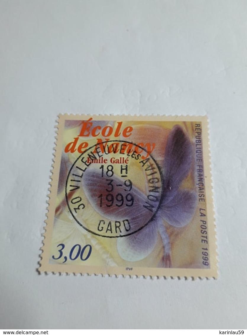 """Timbre France YT 3246 """" Ecole De Nancy """" 1999 Oblitéré - France"""