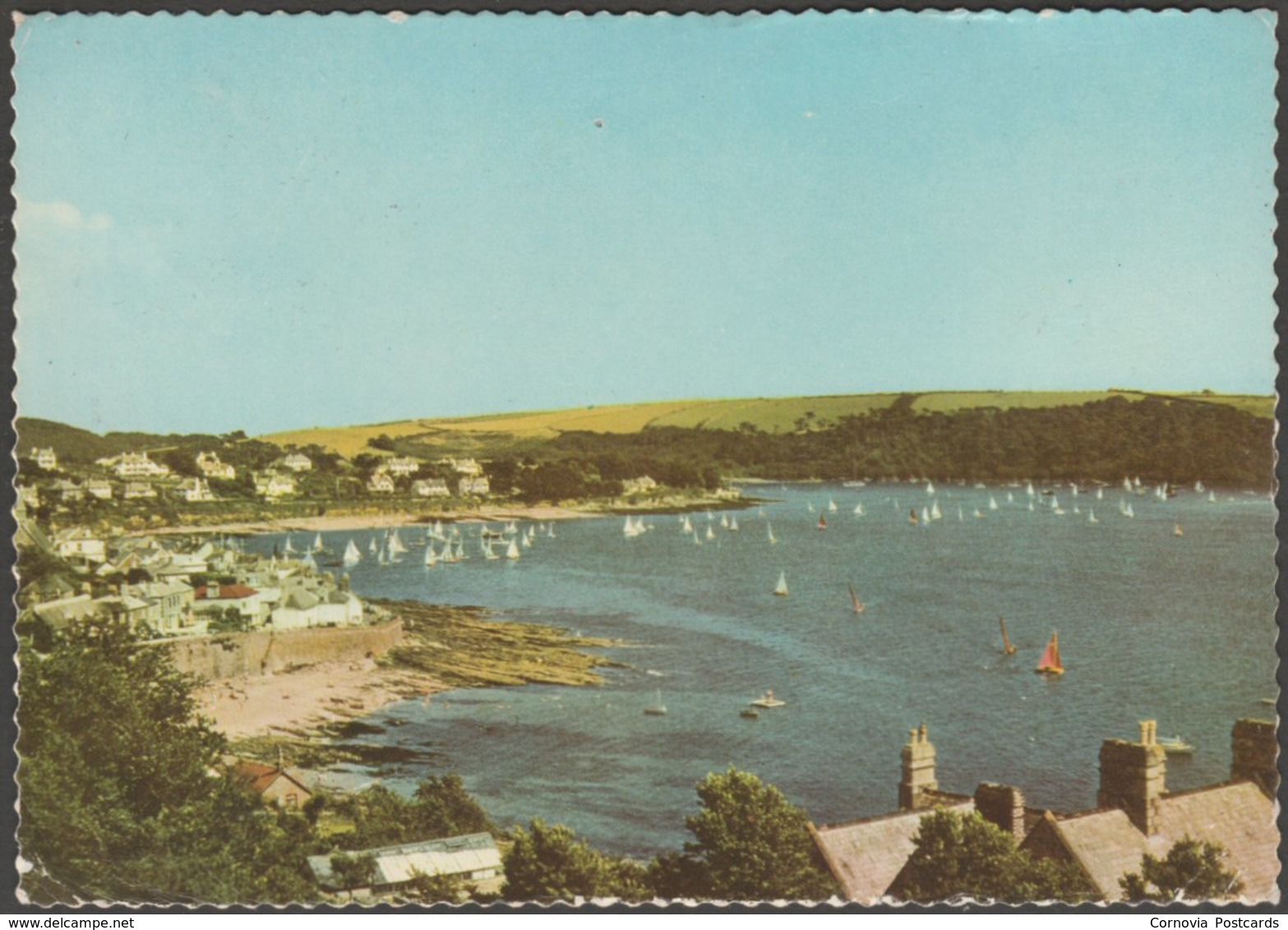 St Mawes From Castle Hill, Cornwall, 1960 - Jarrold Postcard - Other