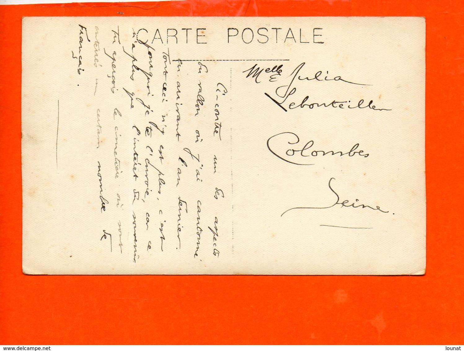 Vallon - Correspondance Pour Colombes - A Identifier