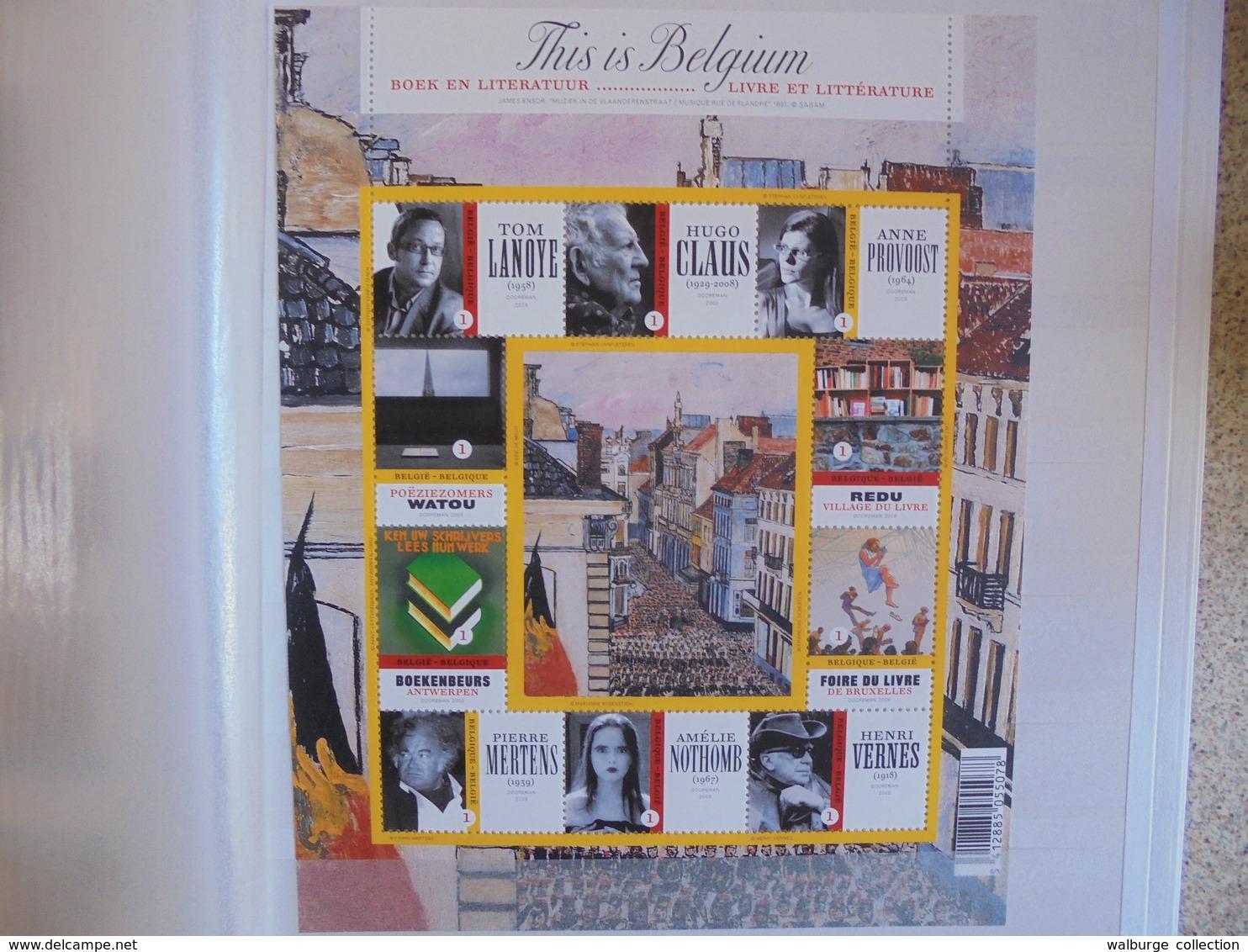 BELGIQUE 2009-2016(TOUT EN NEUF) +- 1350 EURO DE FACIALE !!! (2119) 2 KILOS 300 - Belgium