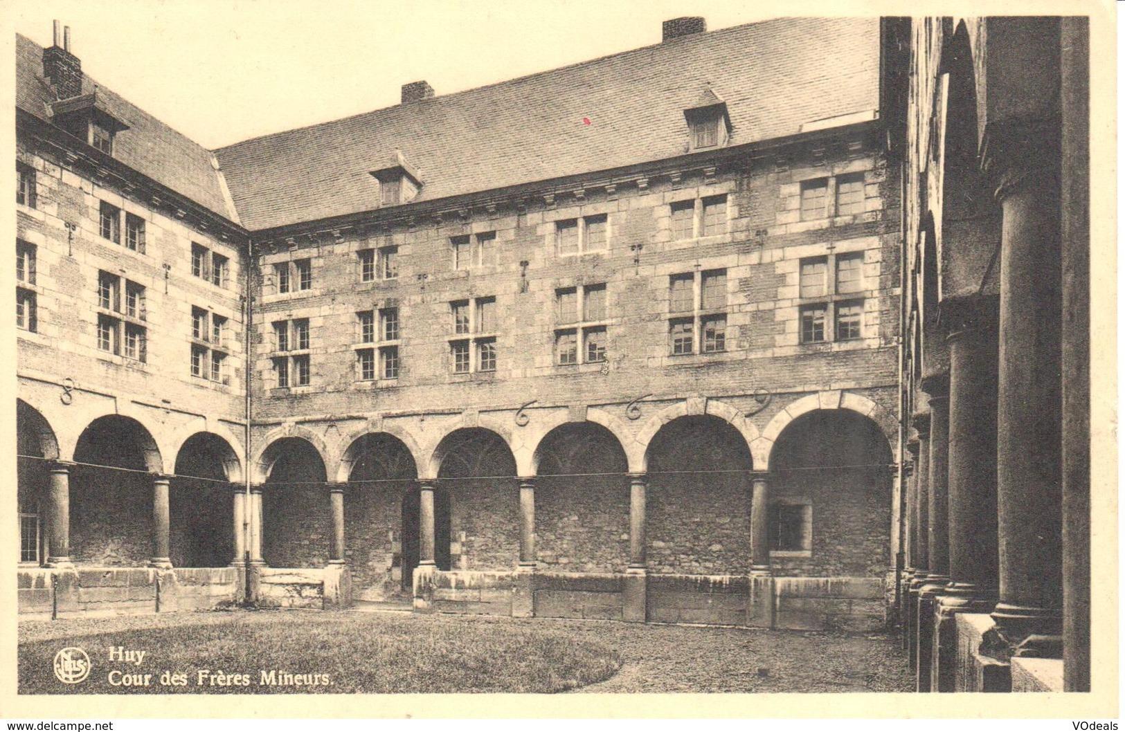 Huy - CPA - Cour Des Frères Mineurs - Hoei