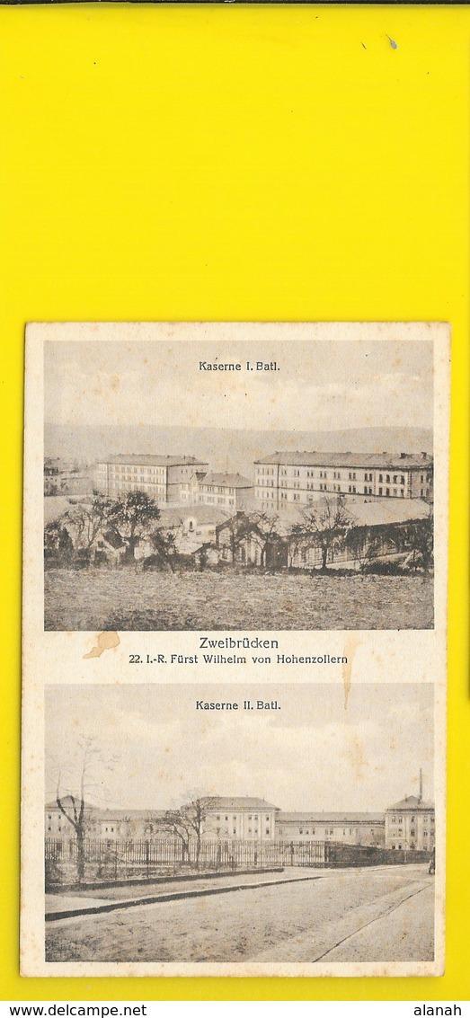 ZWEIBRÜCKEN Kaserne () Allemagne - Zweibruecken