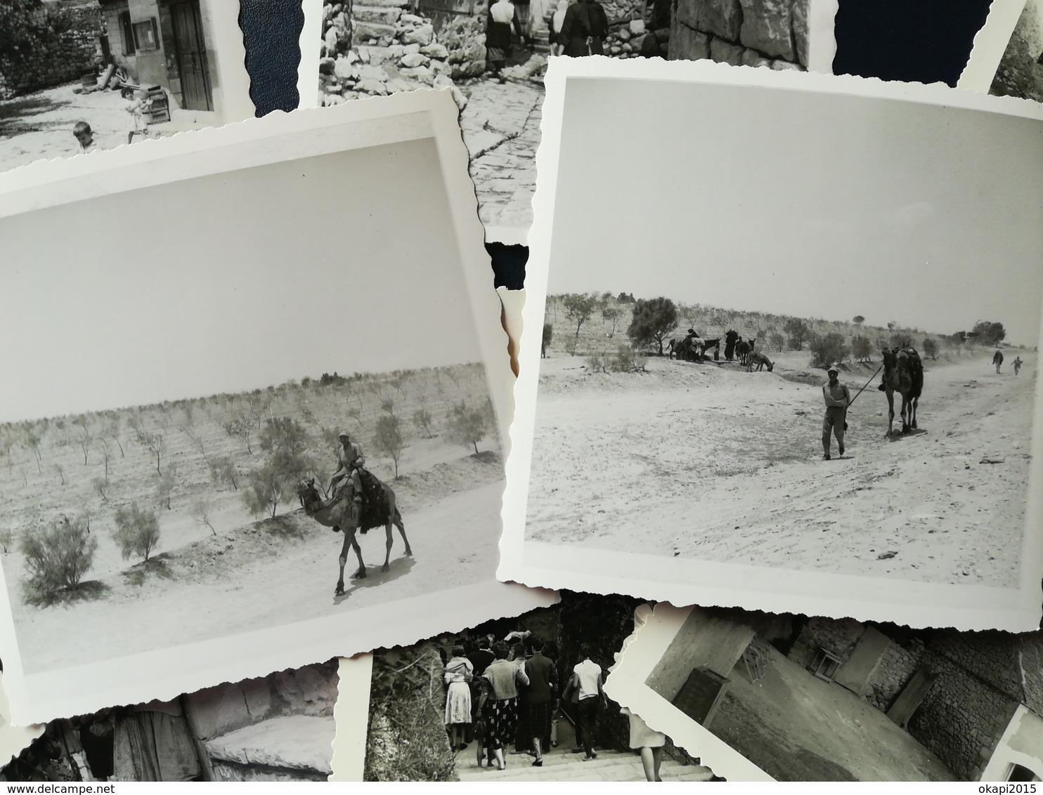 120 PHOTOS ORIGINALES DONT 35 PHOTOS NOIR- BLANC  VOYAGE PAYS ARABE ET 40 PHOTOS COULEURS VOYAGE U. S. A EN 1978 - Albums & Collections