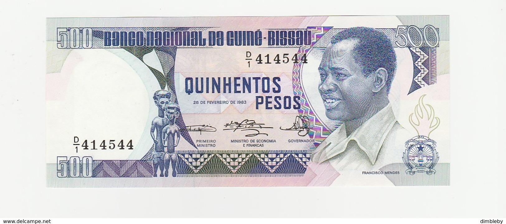 500 Pesos UNZ 1983 - Guinea-Bissau