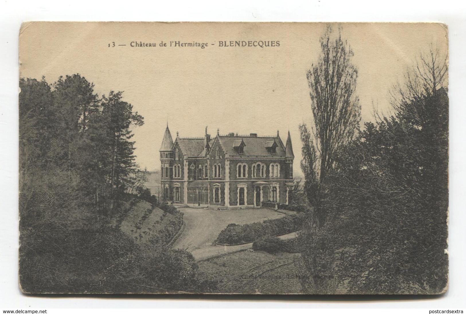 Blendecques (62) - Château De L'Hermitage - Saint Omer