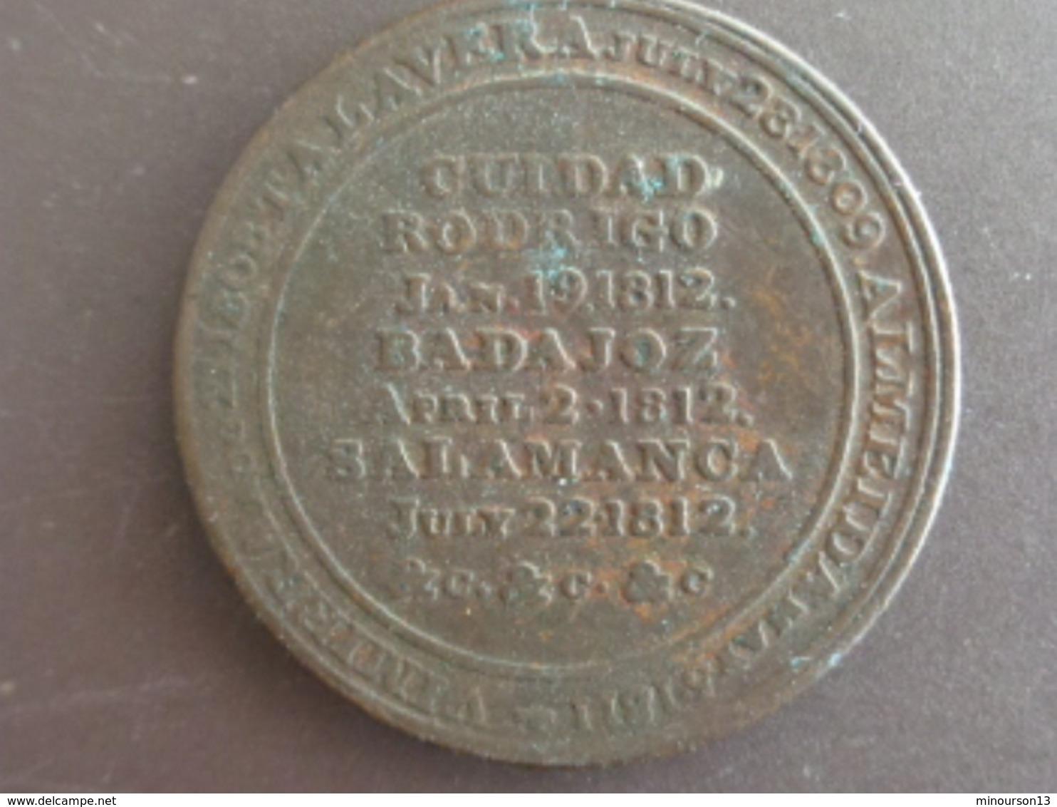 GUIDAD RODRIGO 19 JANVIER 1812 BADAJOZ  2 AVRIL 1812 SALAMANCA 2 JUILLET 1812 - Unknown Origin