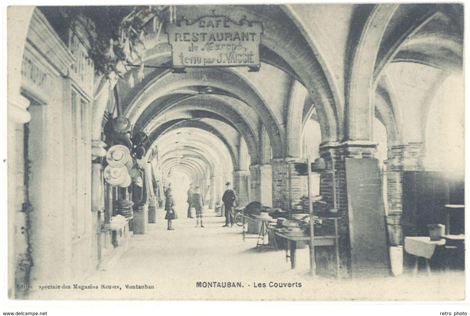 Cpa Montauban - Les Couverts    ( S. 2592 ) - Montauban