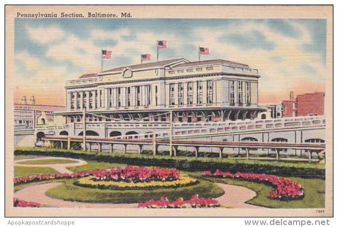 Maryland Baltimore Pennsylvania Station