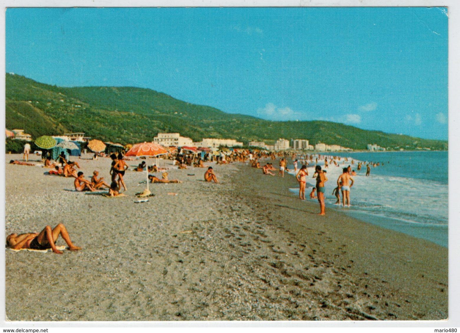NOCERA  TERINESE  LIDO (CZ)     VILLAGGIO  RESIDENZIALE   NUOVA  TEMESA      LA  SPIAGGIA             (VIAGGIATA) - Italia
