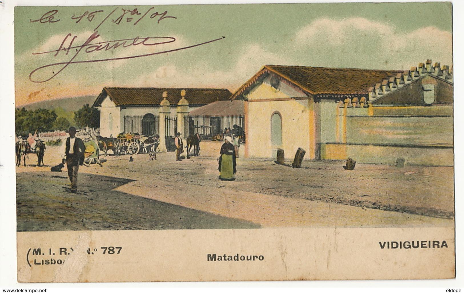 Vidigueira Matadouro  No 787 From H. James Cinematographe Portimao Defaut Coin Inf . Gauche - Autres