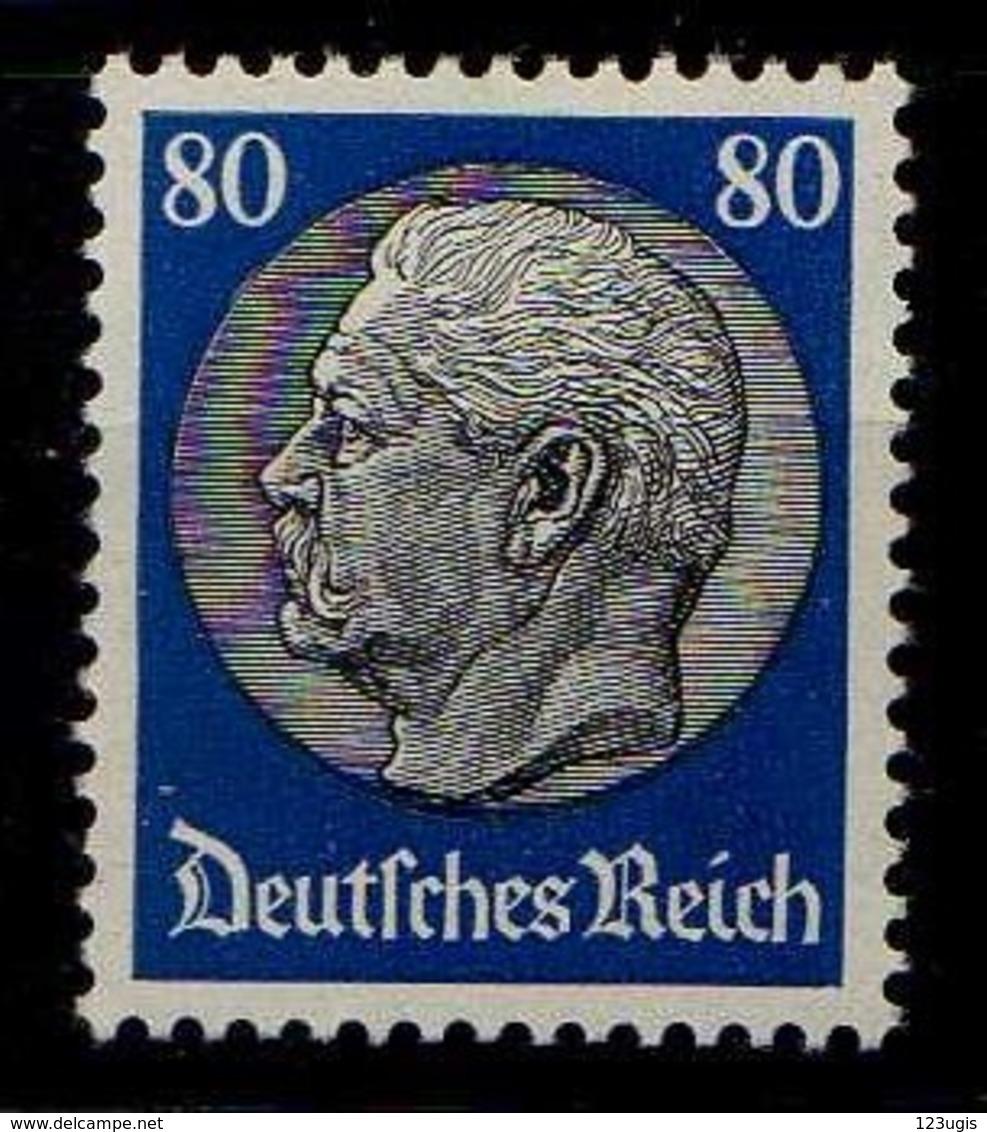 Deutsches Reich, 1933, Mi 494 *, Hindenburg [040518XXII] - Alemania