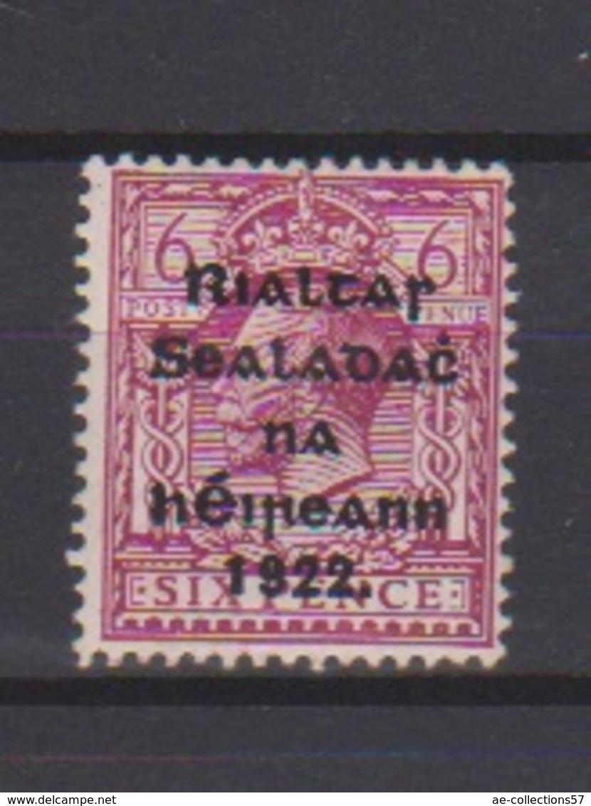 Irlande / N 9  /  6 P Lilas / NEUF Avec Trace De Charnière - 1922-37 Irish Free State