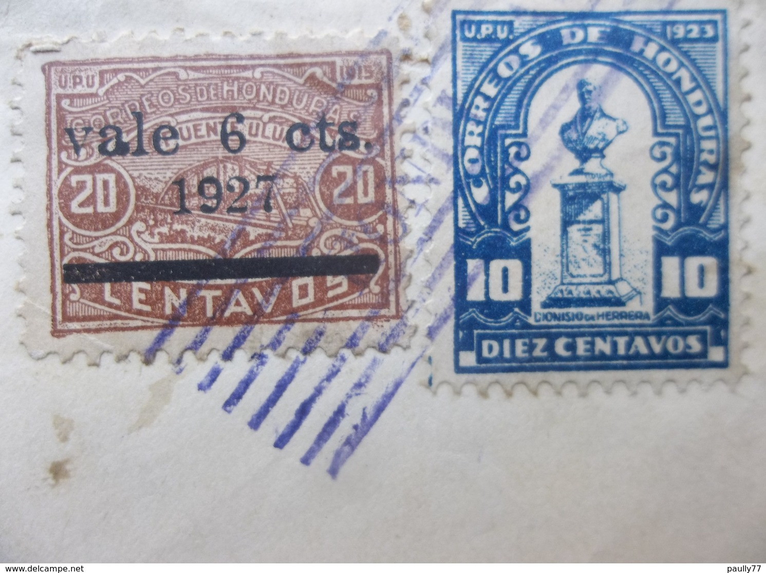 Honduras: 1927 Rgt. Cover To Chicago, ILL., USA (#AD8) - Honduras