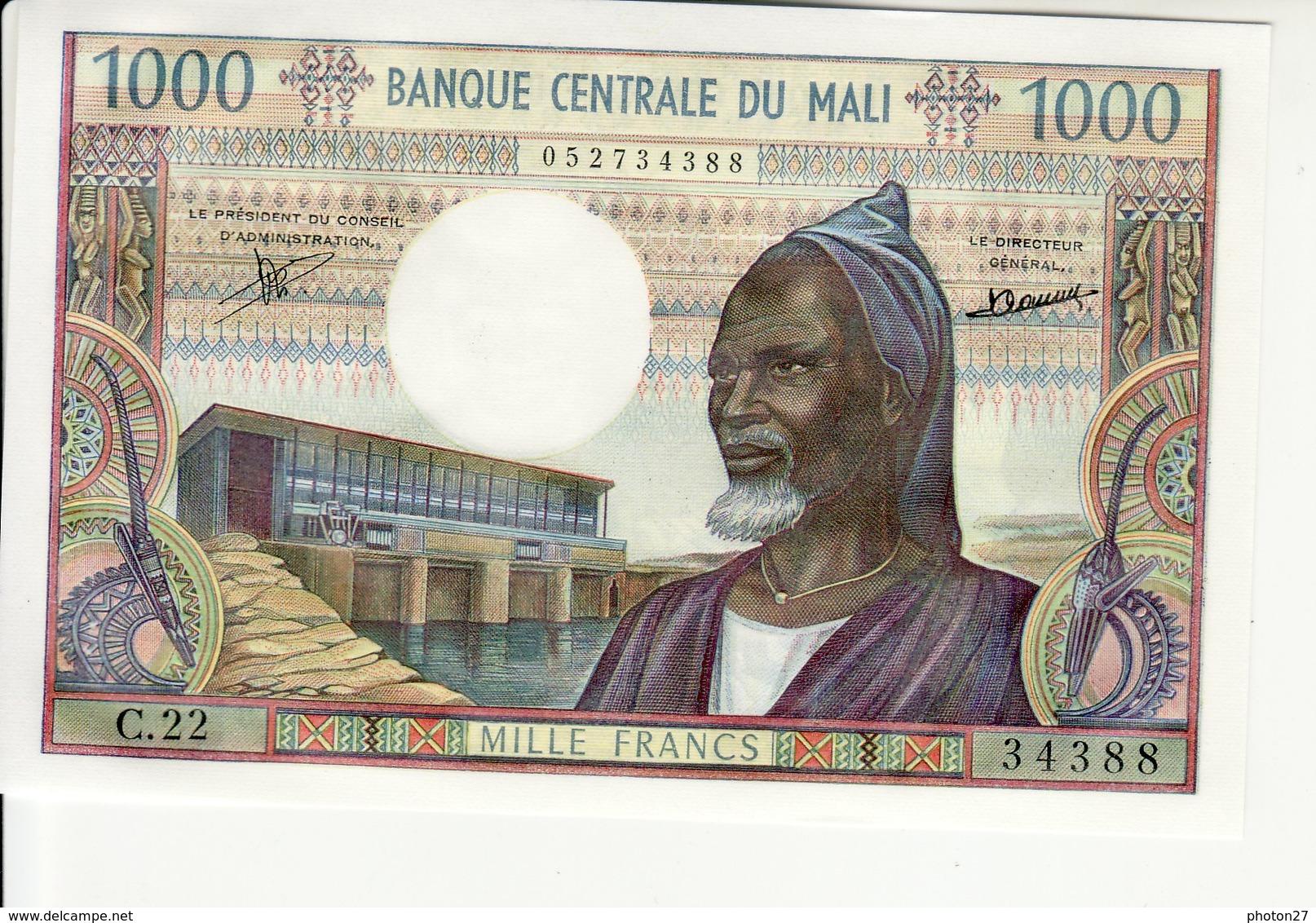 Mali - 1000 Francs - Mali