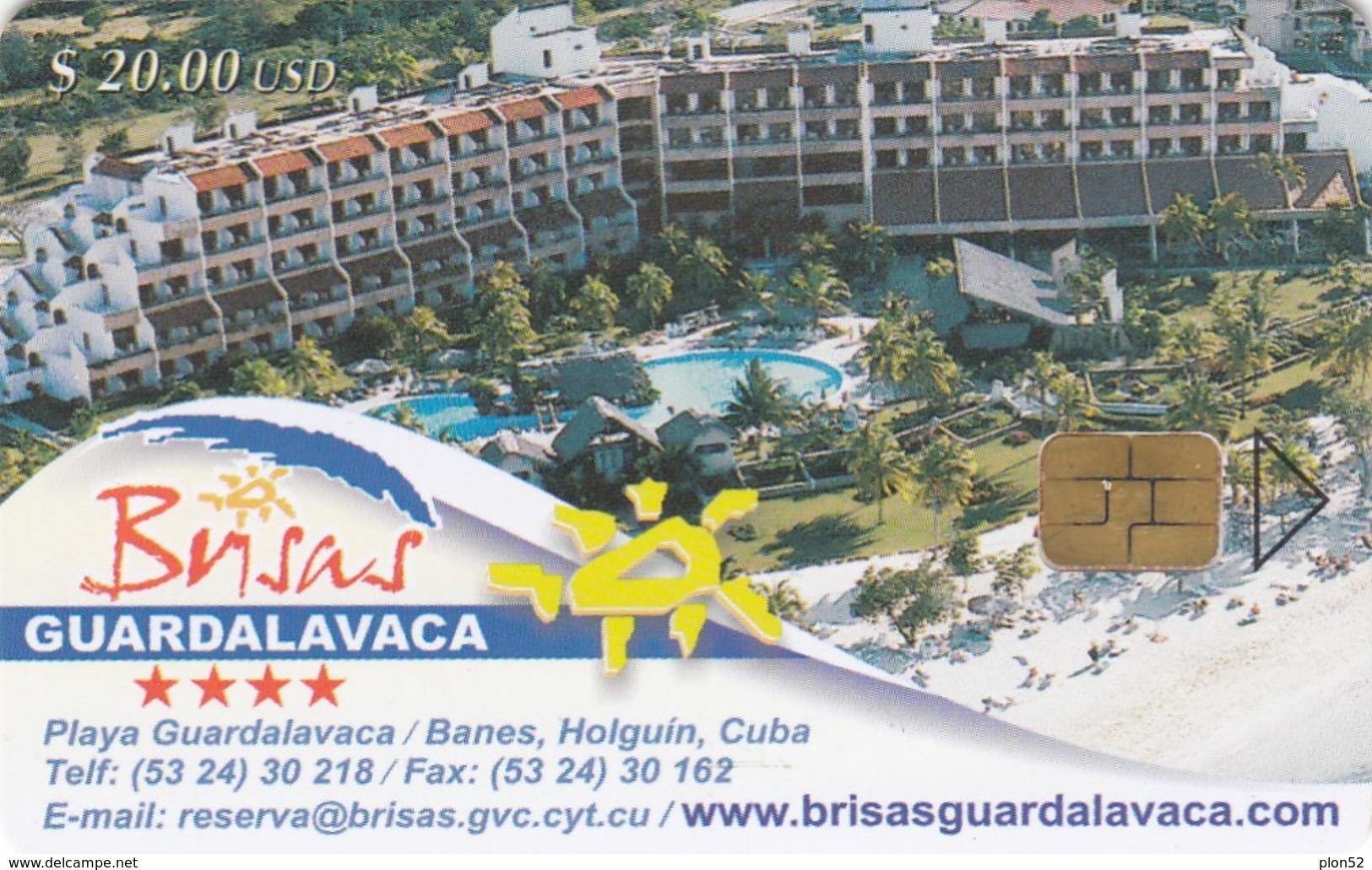 11959- SCHEDA TELEFONICA - CUBA - PLAIA GUARDALAVACA - USATA - Cuba