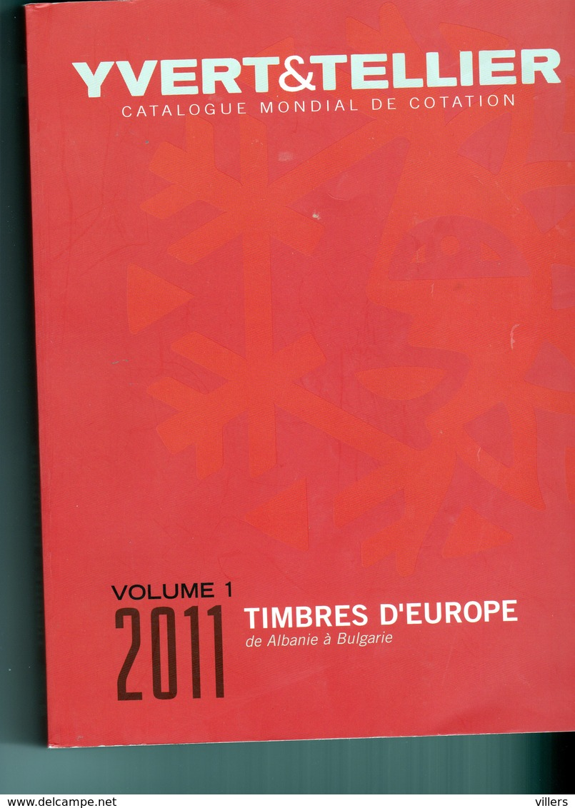 TIMBRES D'EUROPE  VOLUME 1  2011 - Frankreich