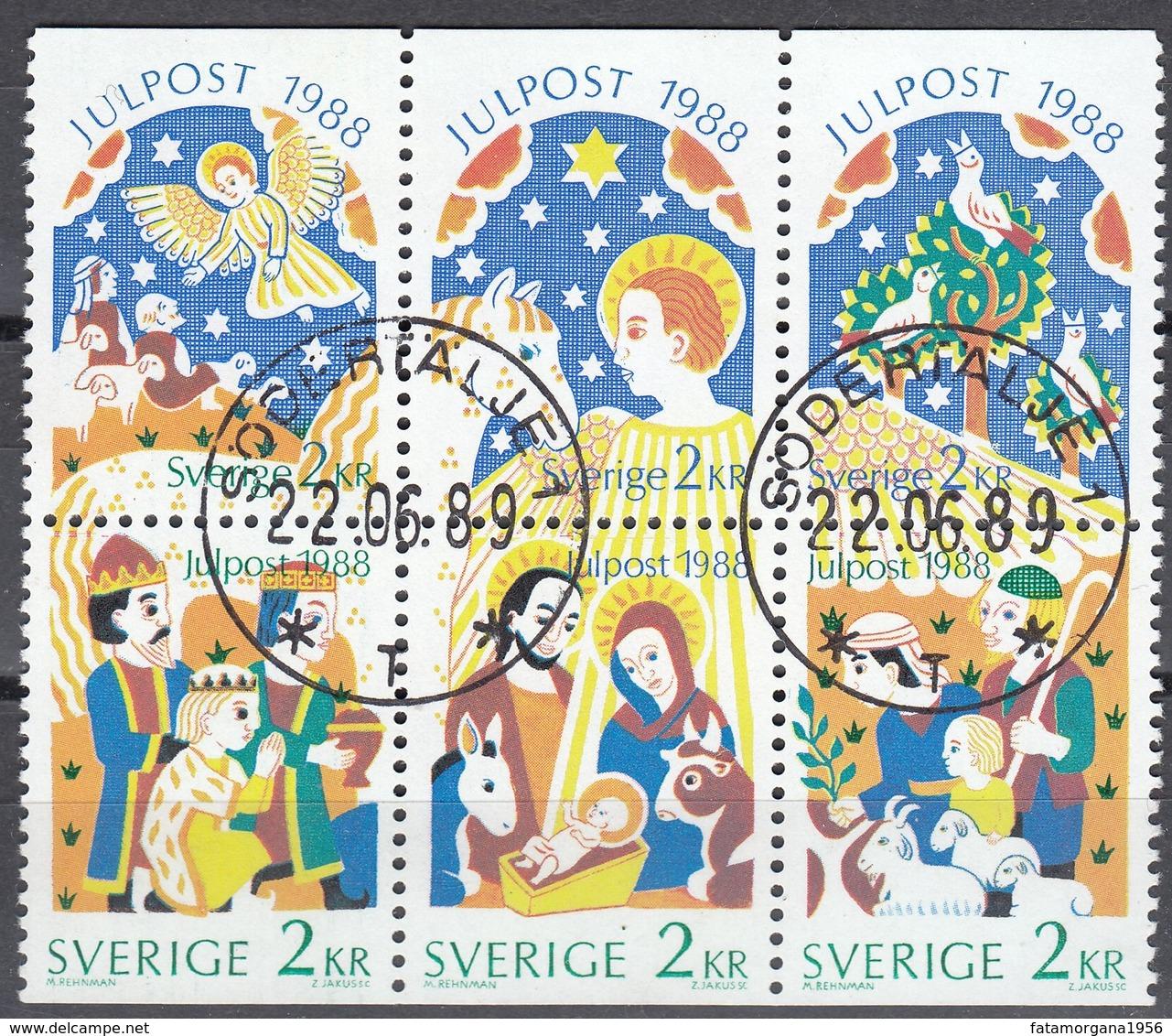 SVERIGE - SVEZIA - SWEDEN - 1988 - Serie Completa Obliterata: Yvert 1496/1501; 6 Valori Uniti. - Schweden