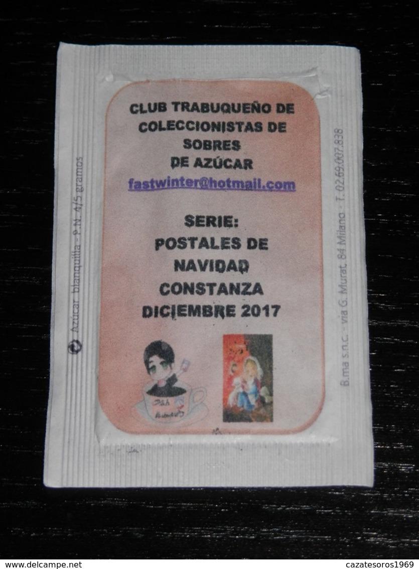 SERIE COMPLETE DE 12 SACHETS DE SUCRES --- SPAIN - Suiker
