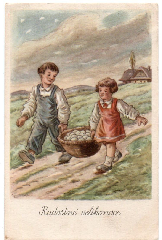 Illustrateur - Czech Republic -  Radostné Velikonoce - Joyeuses Pâques - Autres Illustrateurs