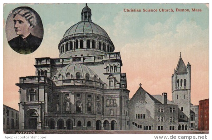 Massachusetts Boston Christian Science Church 1911