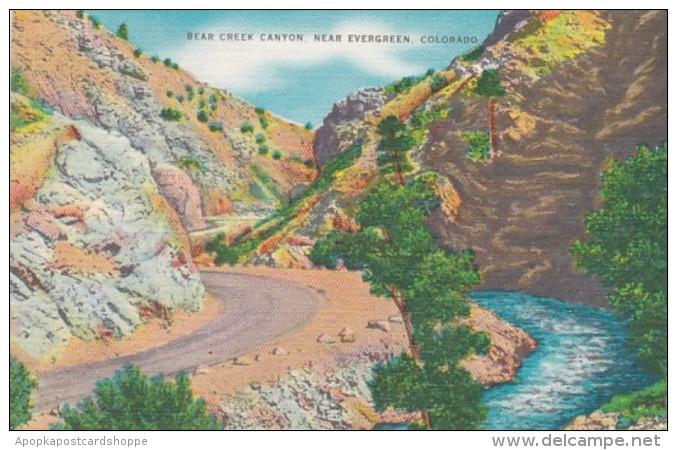 Colorado Bear Creek Near Evergreen