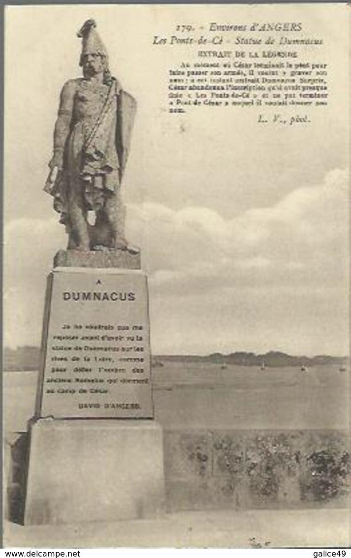 1699 Les Ponts De Cé - Statut De Dumnacus (Guerrier Gaulois) - Par David D'Angers - Les Ponts De Ce