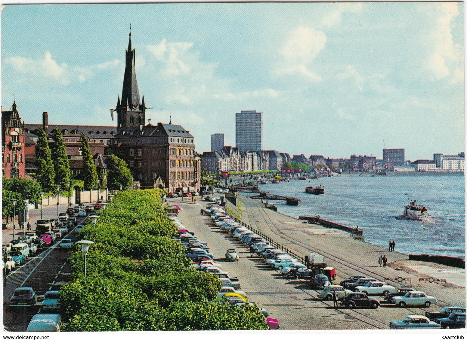 Düsseldorf: FORD STREIFENTAUNUS, 12M P4, OPEL KADETT-B KIEMEN COUPÉ, VW 1200 & CABRIO, KARMANN GHIA, MERCEDES W110/11 - Toerisme