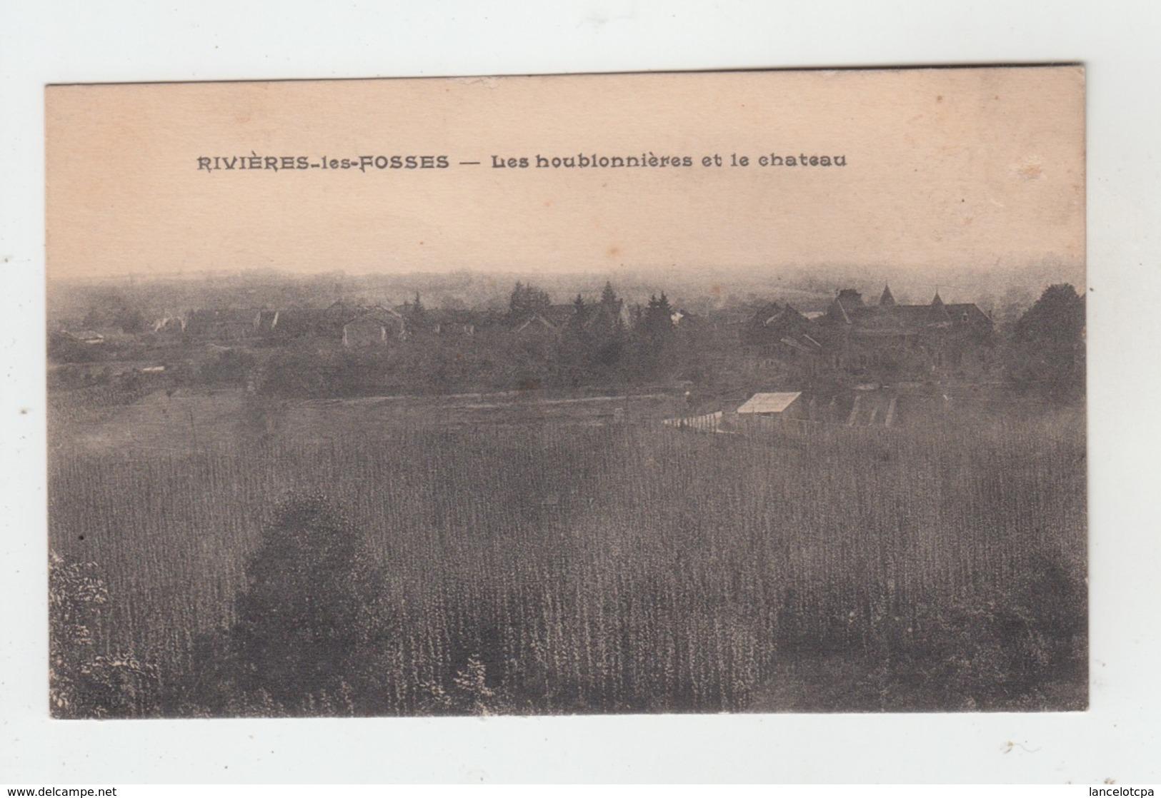 52 - RIVIERES LES FOSSES / LES HOUBLONNIERES ET LE CHATEAU - Autres Communes