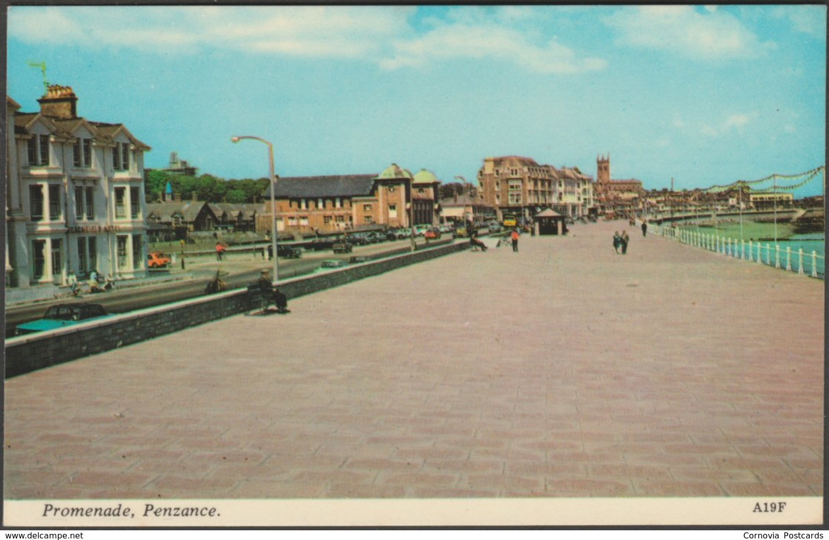 Promenade, Penzance, Cornwall, C.1970s - Harvey Barton Postcard - Other