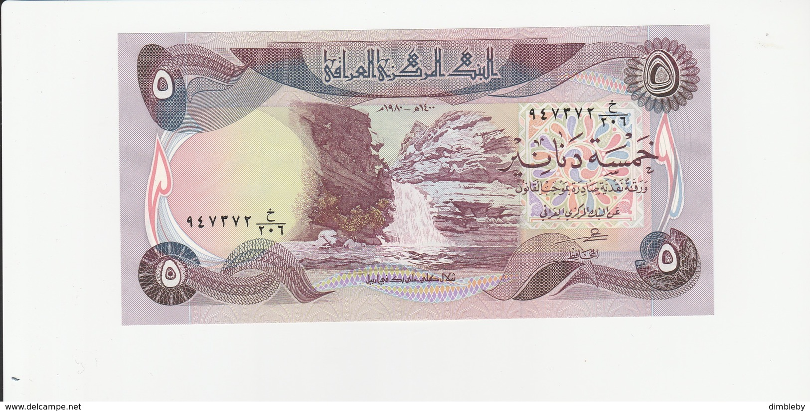 Irak 5 Dinar UNZ - Iraq