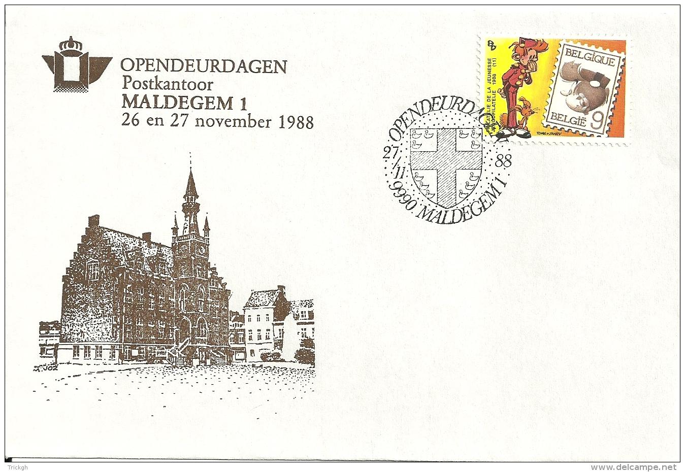 België 1988 Maldegem / Opendeur Portes Ouvertes / Strip Bande Dessinée Comics - Covers & Documents