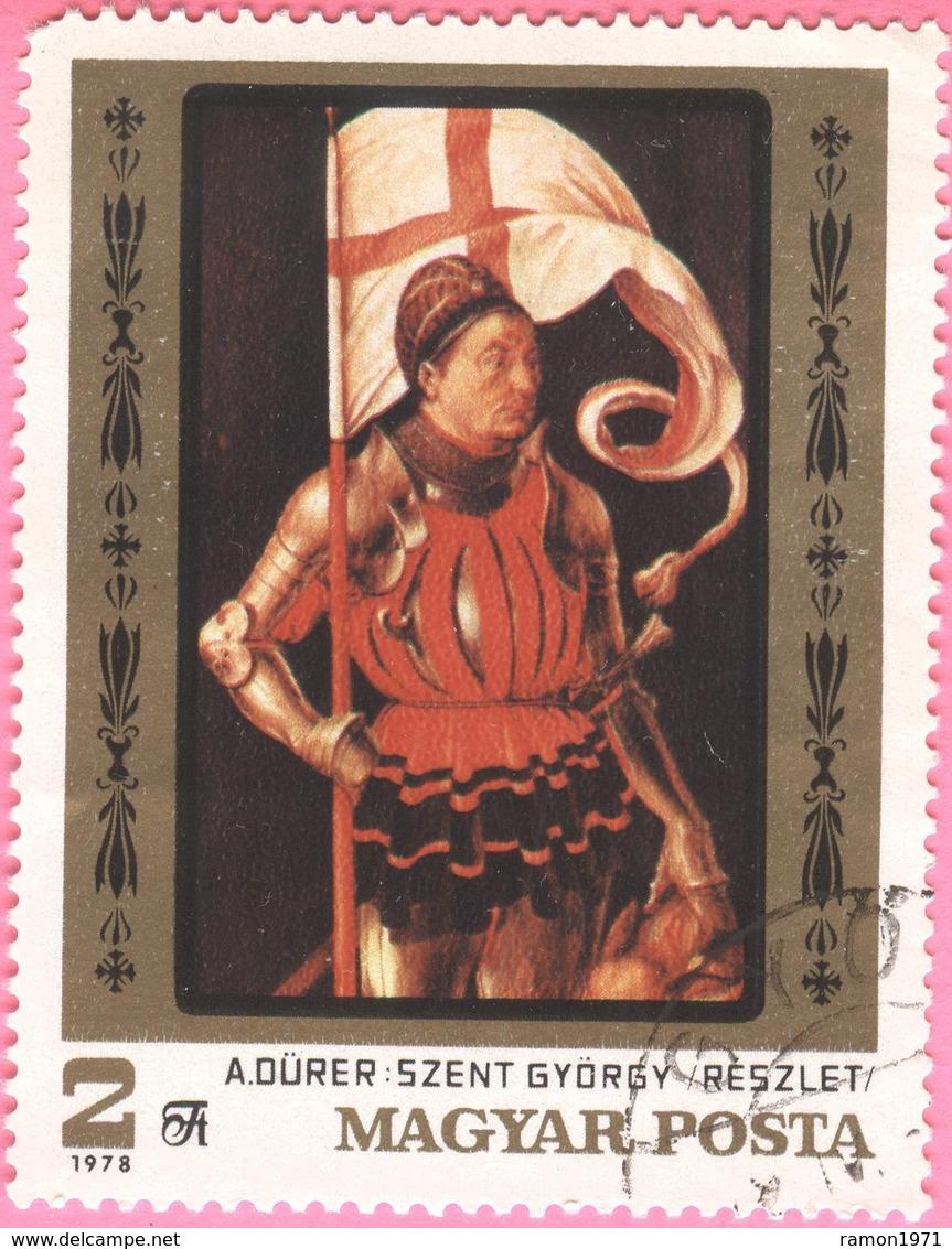 HUNGARY - Art - Paintings - Durer  - 2 FT - 1978 - Hungary