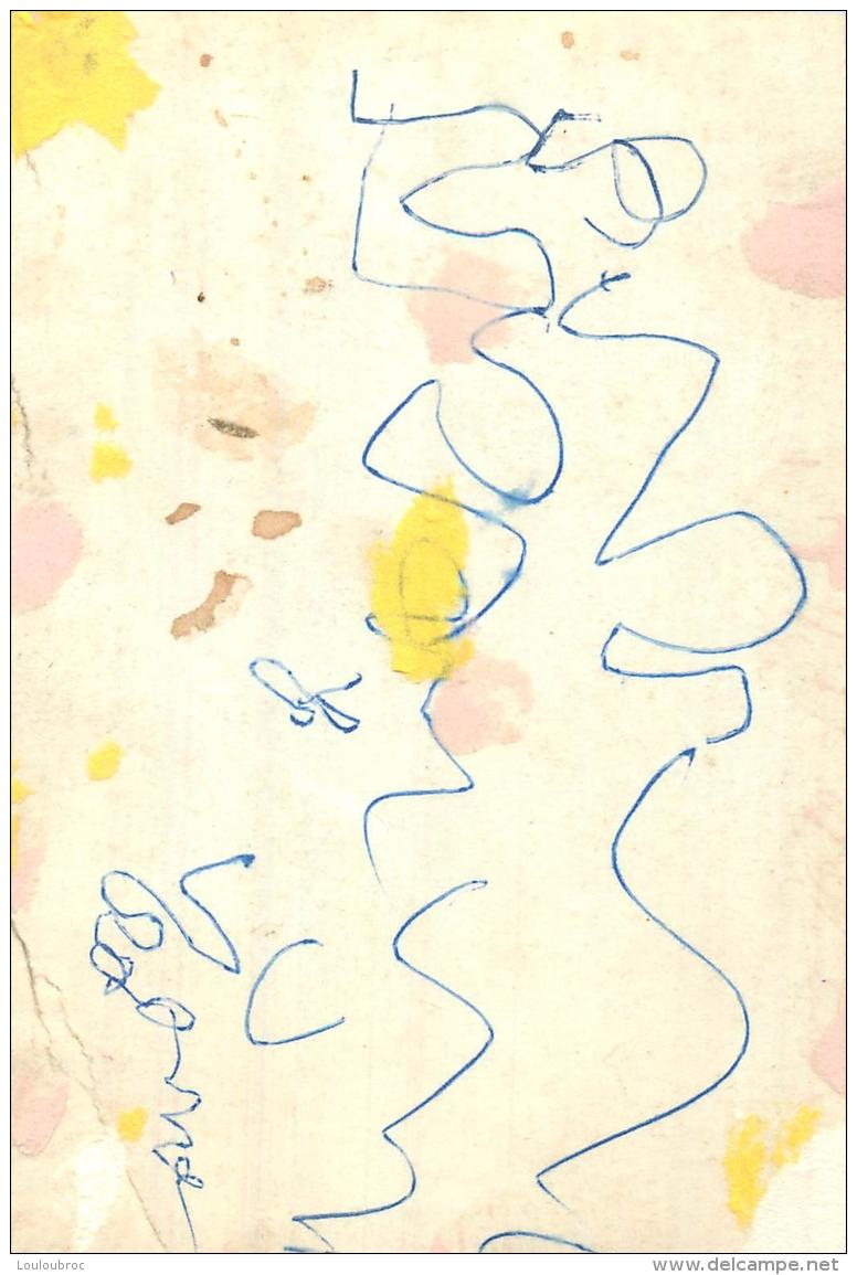 PHOTO BOXE BOXEUR  YANEK WALCZAK  DEDICACE    FORMAT 14 X 9 CM - Autographes