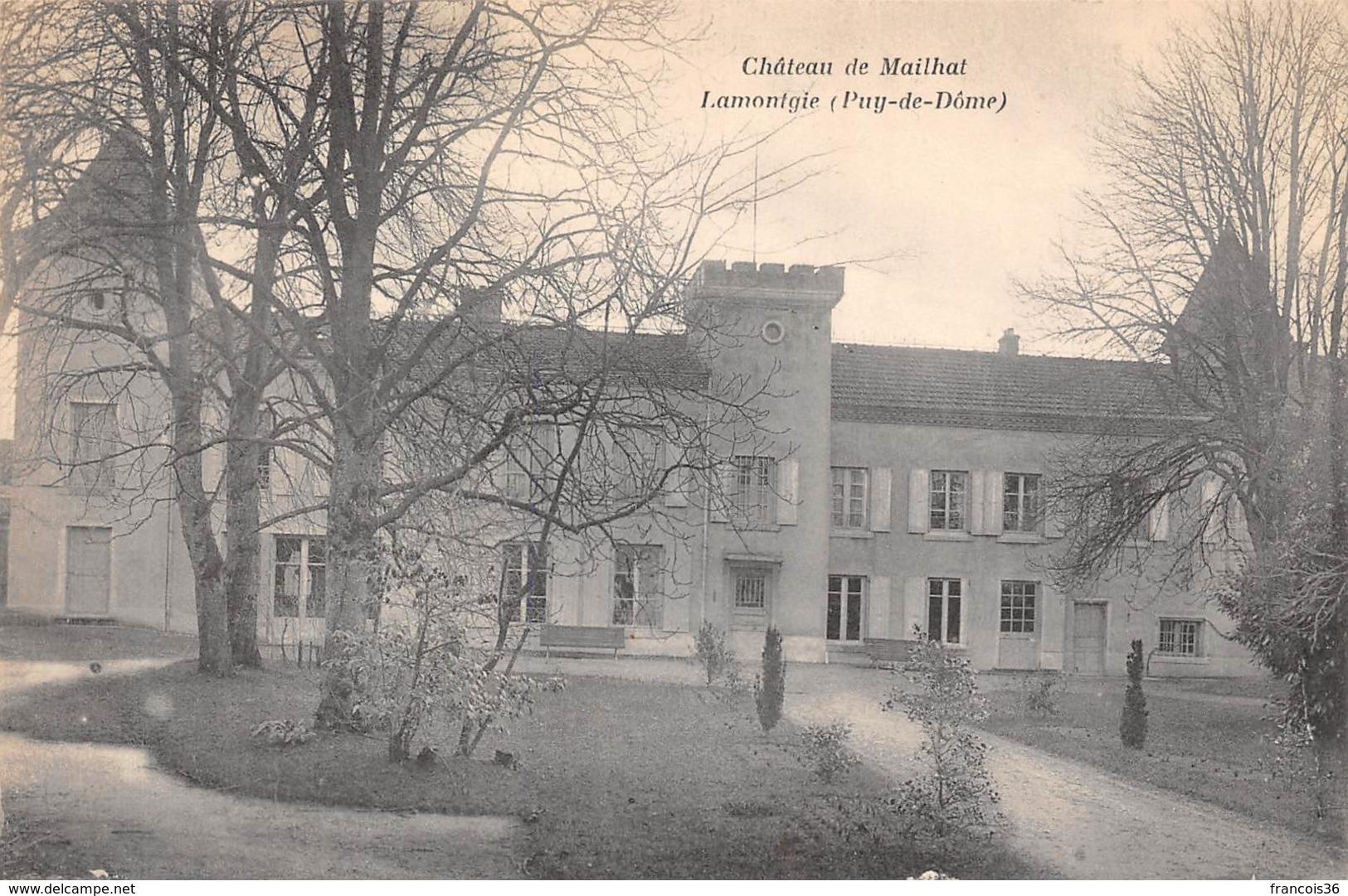 Château De Mailhat (63) - Lamontgie - Francia