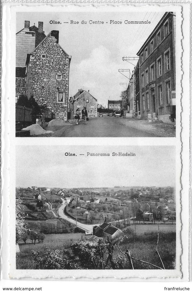 OLNE (4877) Rue Du Centre + Panorama St Hadelin - Olne