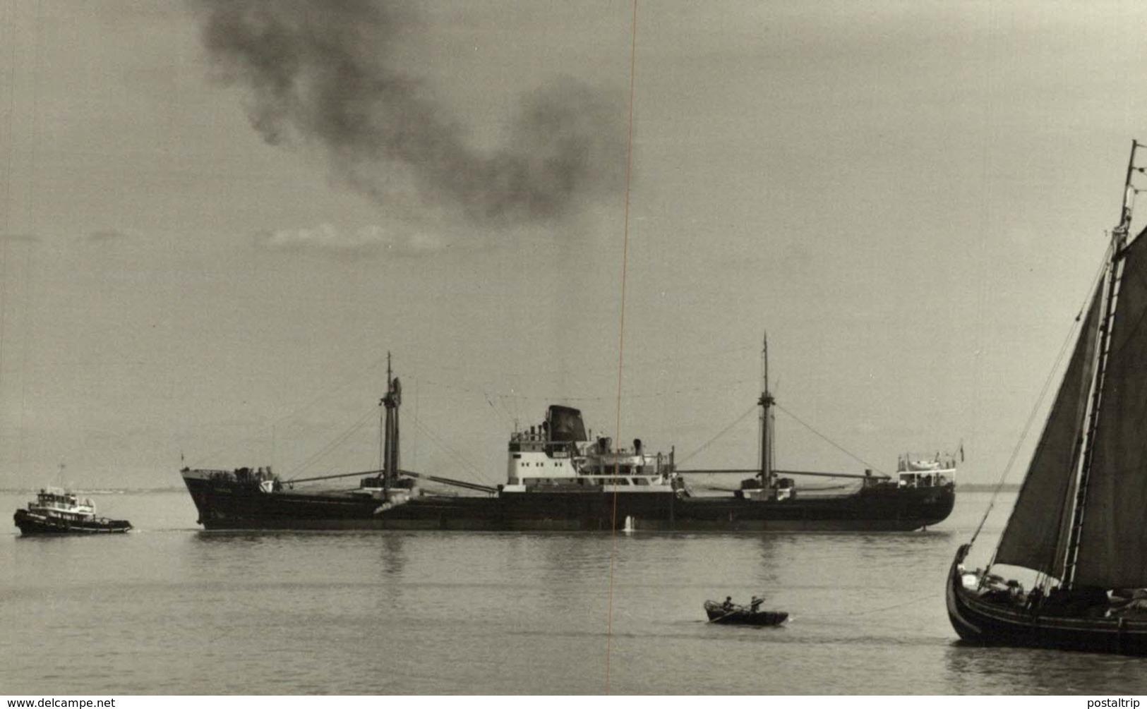 TORRES 13,5 X 9 Cm BARCO, BATEAU, SHIP - Barcos
