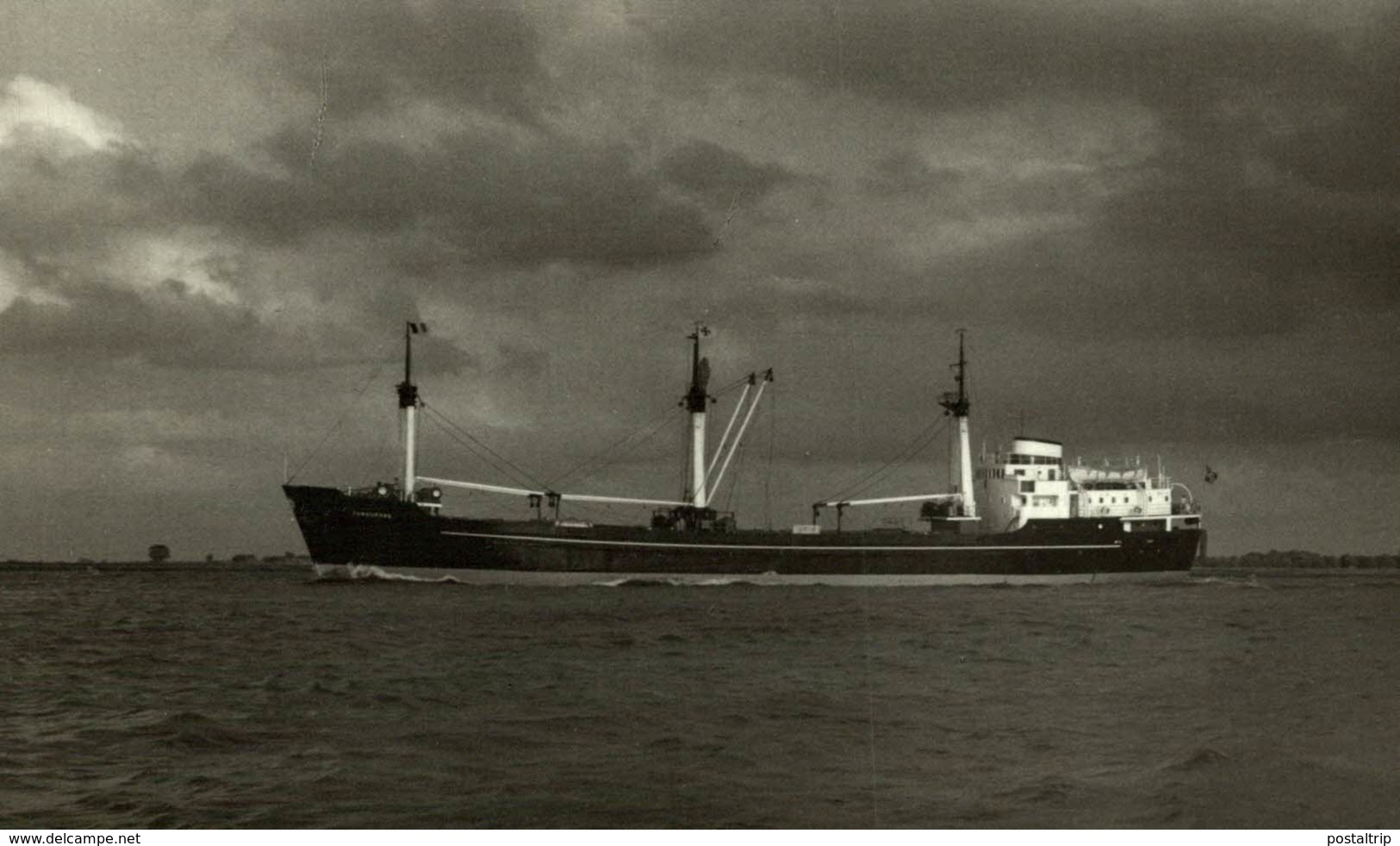 TUNGUFOSS  13,5 X 9 Cm  BARCO, BATEAU, SHIP - Barcos