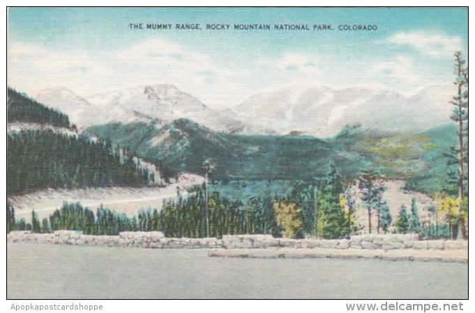 Colorado The Mummy Range Rocky Mountain National Park