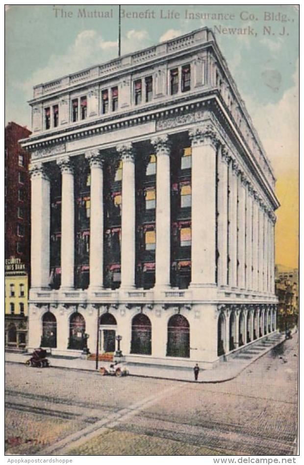 New Jersey Newark The Mutual Benefit Life Insurance Company